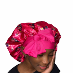 Our Brown Skinned Girl bonnet is reversible