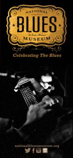 Rack Card Design for the St. Louis Blues Museum