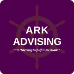Ark Advising logo with tagline
