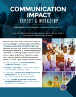 Get Your Exclusive DISC Assessments Today! Entrepreneur Impact Report, Communication Impact Repost