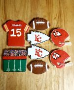 Its Football Time Decorated Sugar Cookies