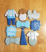 Little Man Decorated Sugar Cookies
