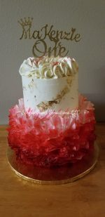 2 Tier Tutu Birthday Cake