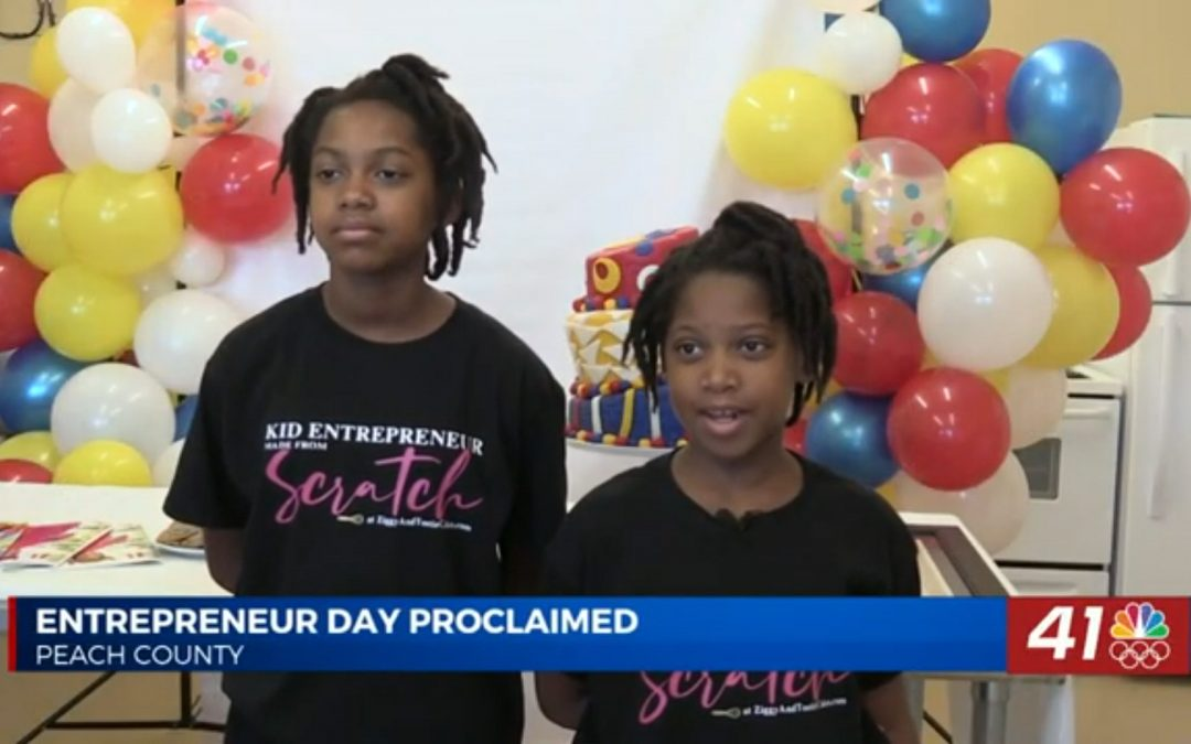 Young Biz Kids: Ziggy and Tootie Cakes Featured in the News