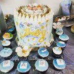Baby Shower Event Cake