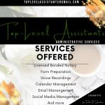 Top-Level Assistants Administrative Services